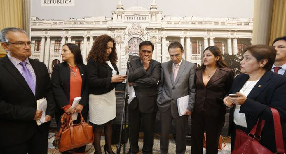 Fujimoristas señalaron que es necesario que primero Kuczynski llegue a concertar. (Anthony Niño de Guzmán)