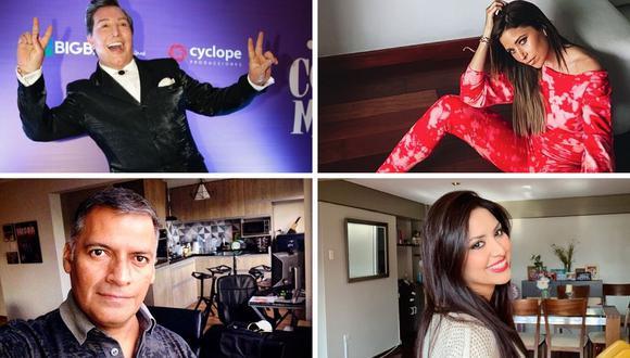 Muchos de ellos de los famosos peruanos confesaron que tuvieron coronavirus mediante redes sociales. (@annacarinapop / @poldgastelo / GEC / @nicolepillman)