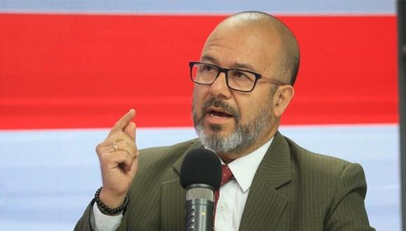 Víctor Zamora tiene ahora dos mociones de interpelación presentadas en su contra en el Congreso. (Foto PCM)