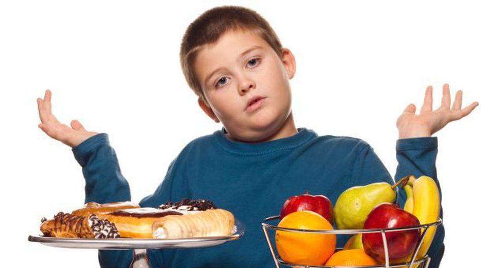 A comer bien. Obesidad infantil puede evitarse. (USI)