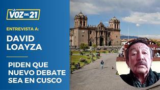 Piden que nuevo debate sea en Cusco