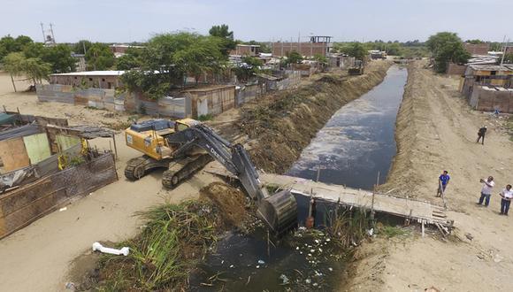 Las labores tienen como finalidad evitar afectaciones en la población a causa de huaicos, desbordes, deslizamientos, entre otras emergencias. (Foto: Ministerio de Vivienda)