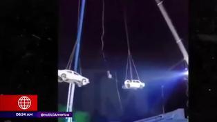 Ilusionista casi pierde la vida en acrobacia extrema en Estados Unidos