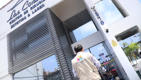 La clínica esta ubicada en la cuadra 29 de la Av. Javier Prado Este. (Foto: Susalud)