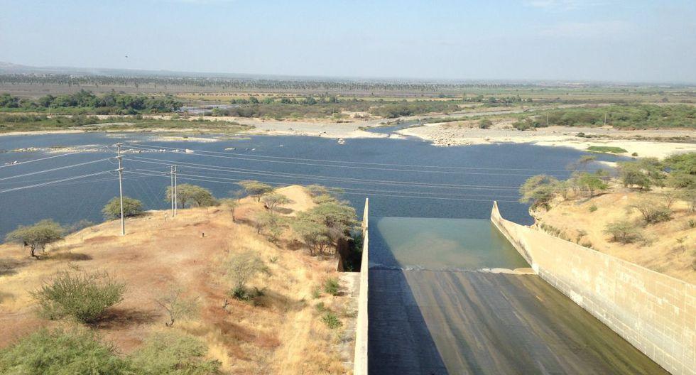 La represa de Poechos se encuentra ubicada en Piura. (GEC)