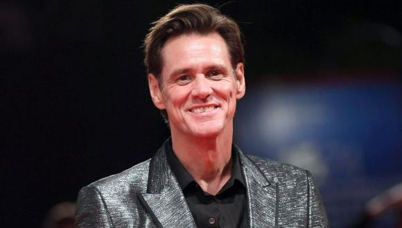 Jim Carrey presenta su documental en el Festival de Venecia. (EFE)