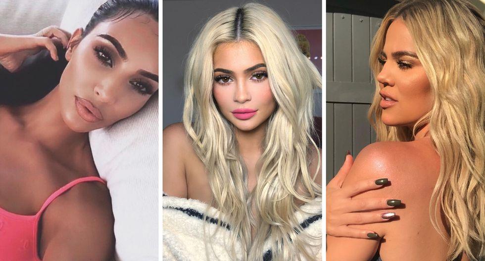 Kim Kardashian muestra a su hija junto a la de Kylie Jenner y Khloé Kardashian en adorable fotografía   Foto: Instagram