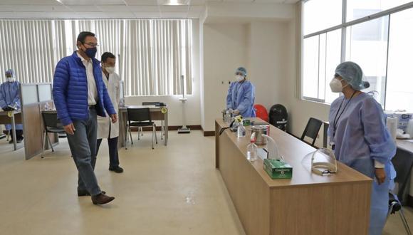 Primeros 3.000 voluntarios que participan de estos estudios de fase 3 están siendo atendidos en el Centro de Estudios Clínicos de la UPCH.(Foto: Presidencia de la República)