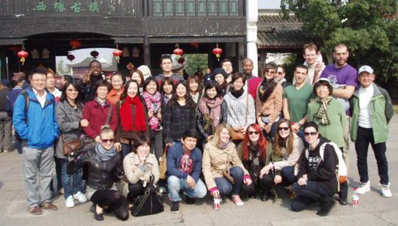 Estudiantes de intercambio. (study-shanghai.org)