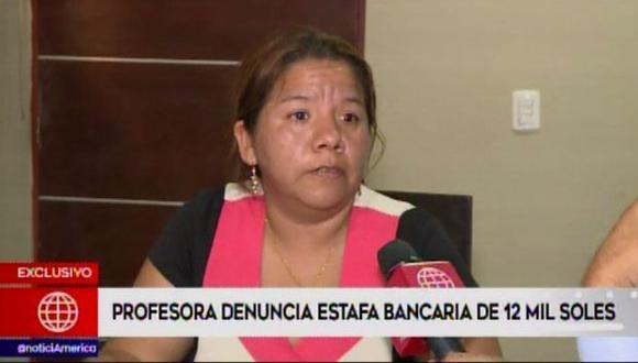 Maldonado indicó que continuamente recibió alertas desde su celular, vía correos electrónicos que había obtenido un préstamo. (Video: América Noticias)