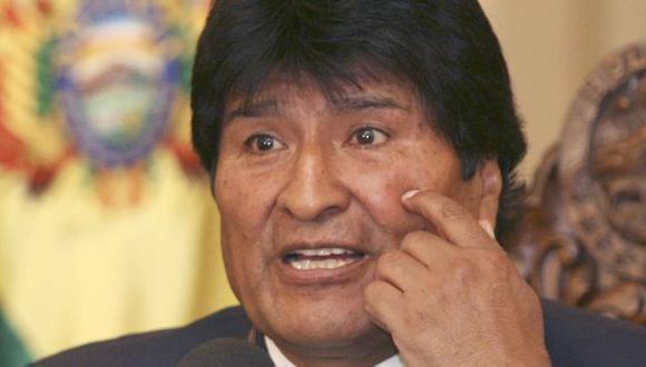 ACLARE. Evo Morales dice que Pinto no es un perseguido político. (Reuters)