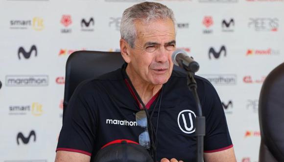 Gregorio Pérez llegó a Lima para asumir segunda etapa con Universitario. (Foto: Universitario)