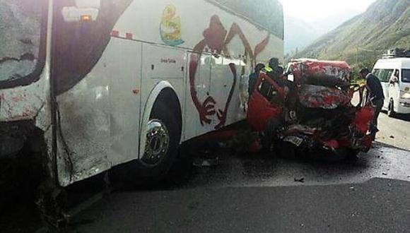 Junín: Tres muertos tras accidente de tránsito en la Carretera Central. (Andina/PedroTinoco)