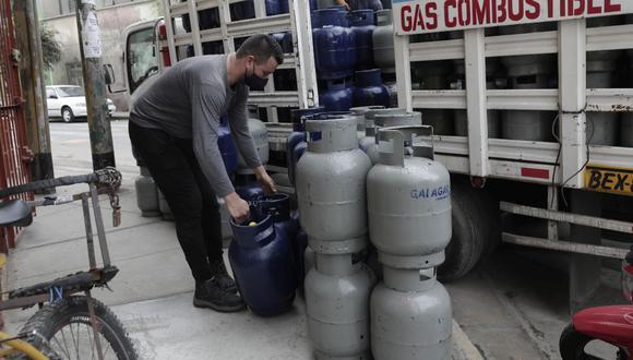El balón de gas ha registrado un incremento en su precio en los últimos meses. (Foto: Jessica Vicente / GEC)