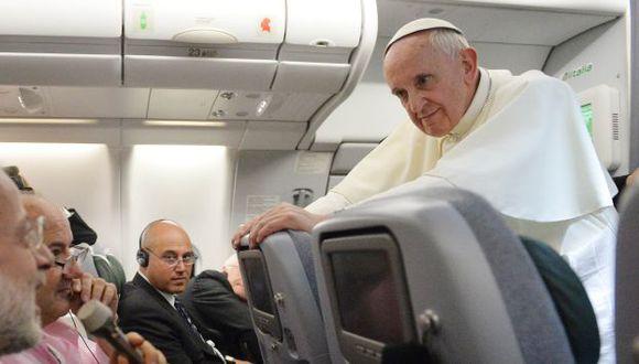 Papa Francisco regresó recientemente de Brasil. (AP)