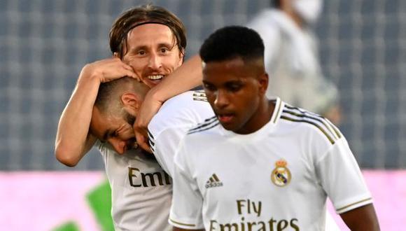 Real Madrid vs. Leganés: chocan por la jornada 38 de LaLiga Santander. (Foto: AFP)