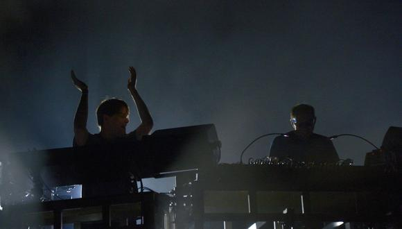 "The Chemical Brothers lanzarán un nuevo tema llamado ""The Darkness That You Fear"". (Foto: BERTRAND GUAY / AFP)"