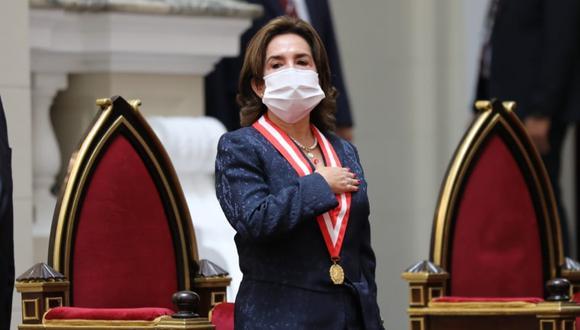 """La presidenta del Poder Judicial, Elvia Barrios, indicó que su pedido está en evaluación y espera que en estos días le den una """"respuesta positiva"""". (Foto: Poder Judicial)"""