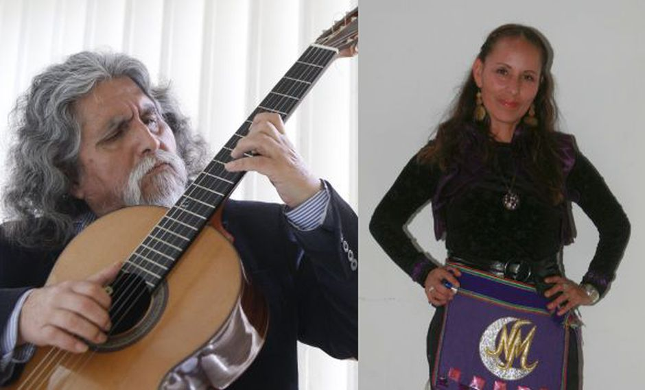 Manuelcha Prado y Nancy Manchego