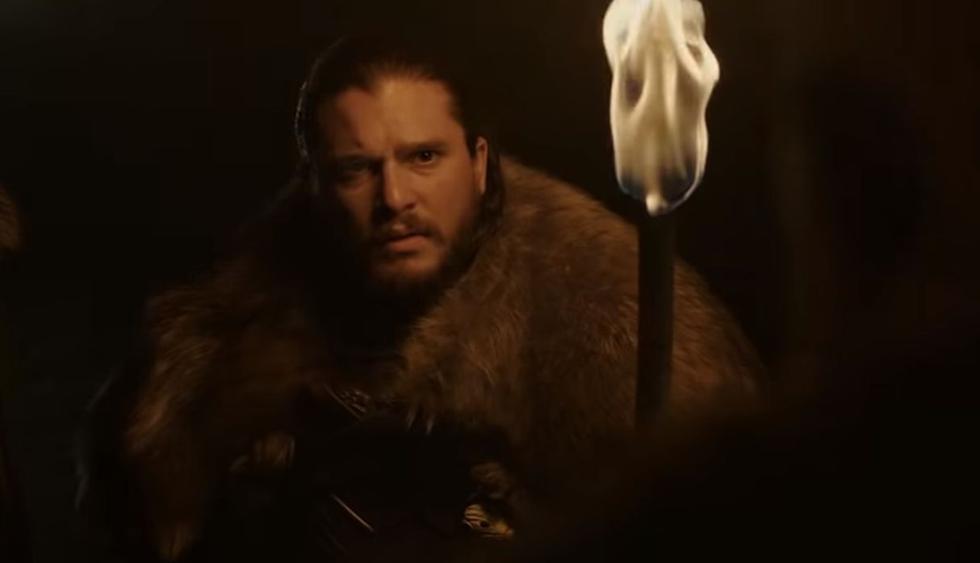 """Kit Harington reveló qué objeto del set de """"Game of Thrones"""" se llevó como recuerdo. (Foto: Captura de video)"""