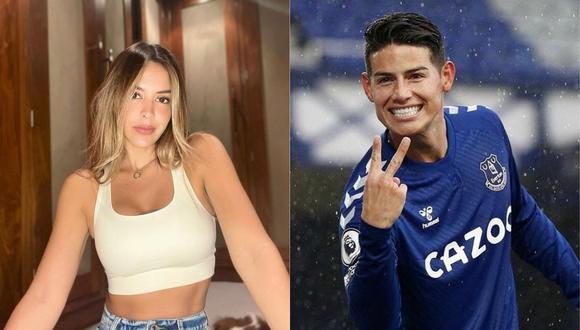 James Rodríguez y Shannon de Lima se habrían separado, según medios internacionales. (Foto: @shadelima/@jamesrodriguez10).