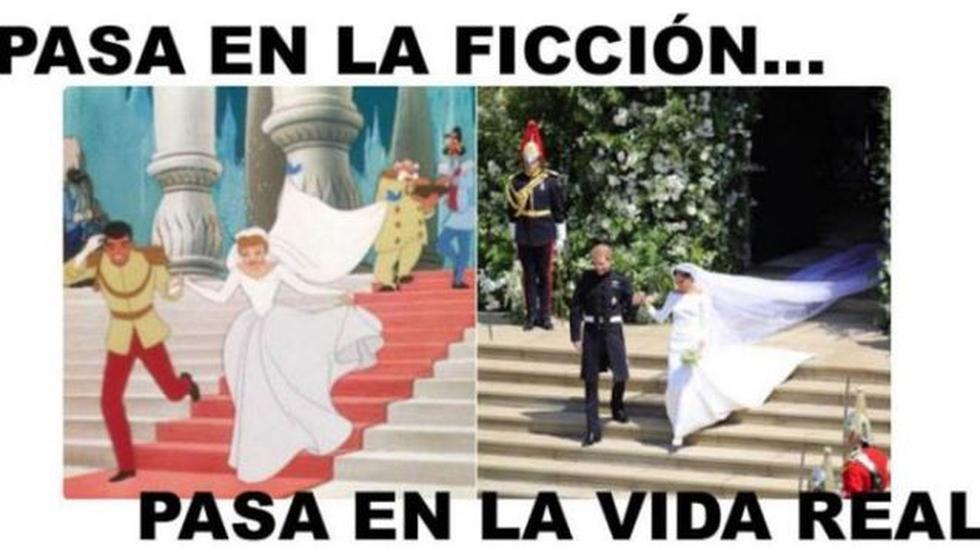 Estos son los hilarantes memes de la unión entre el príncipe Harry y Meghan Markle. (Facebook)