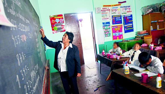 Las clases volverán en los colegios que cumplan con los requisitos necesarios. (Foto: Minedu)
