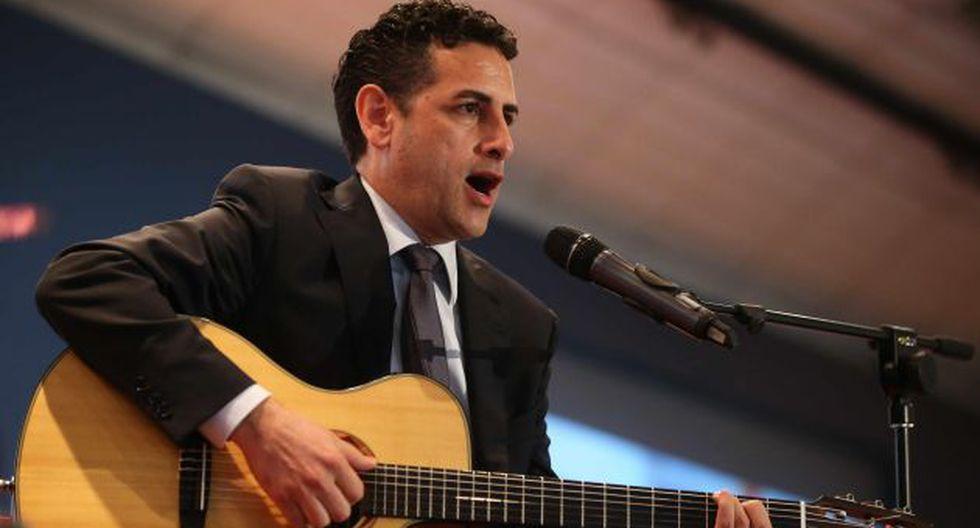 Juan Diego Flórez cantó tema de Yola Polastri. (EFE)