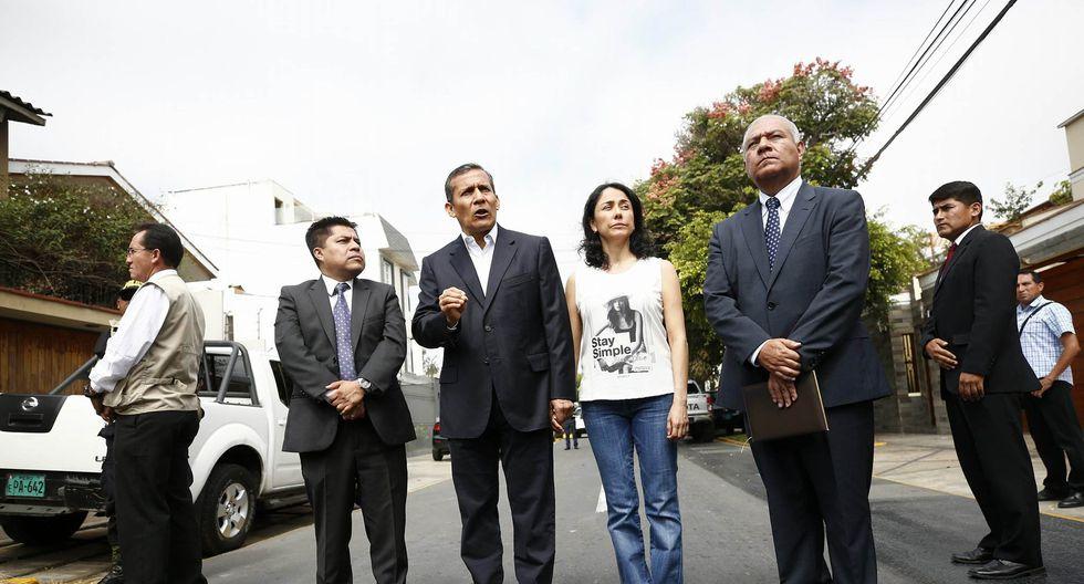 Ollanta Humala y Nadine Heredia (Piko Tamashiro/Perú21)