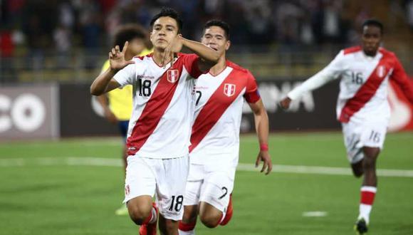 La selección peruana clasificó primero en el Grupo A y espera rival. (Foto: Jesús Saucedo)