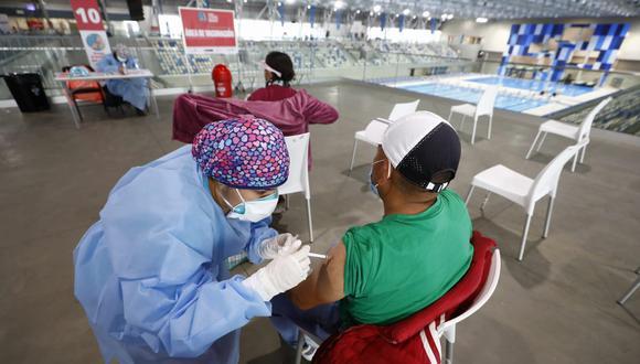Para los días 24 y 25 de julio se han habilitado 22 centros de vacunación en Lima y el Callao con motivo de la última vacunatón. Foto: Eduardo Cavero/@photo.gec