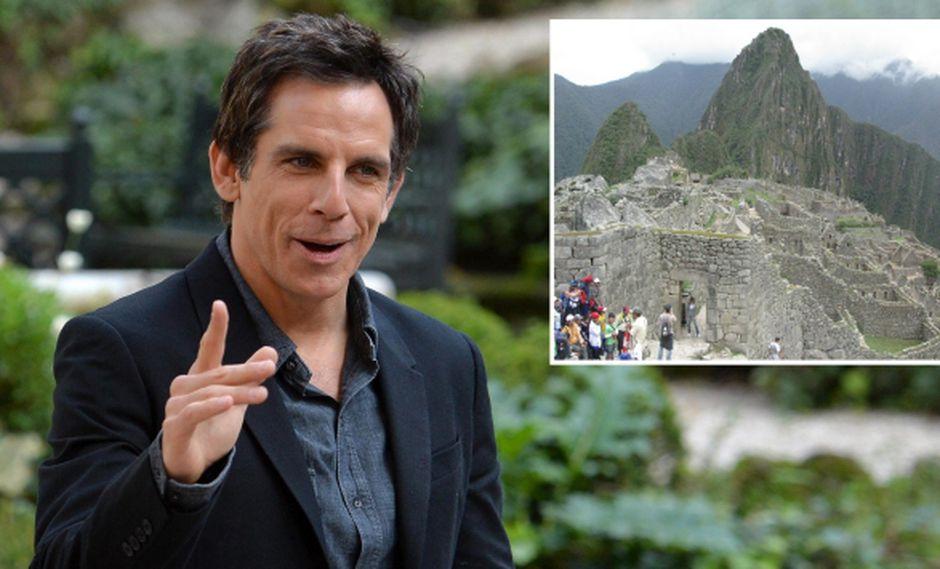 Ben Stiller quiere ir a Machu Picchu. (EFE/USI)