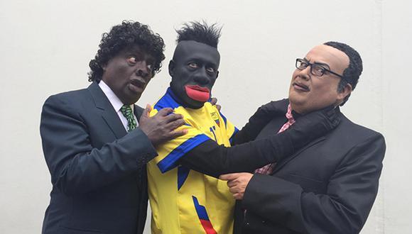 'El Wasap de JB': Usuarios califican de racista la imitación a Felipe Caicedo (@JBJorgeBenavides)