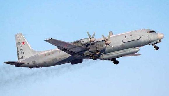 """El avión de reconocimiento Il-20 de Rusia fue derribado por """"negligencia"""" de pilotos israelíes. (Foto referencial: EFE)"""