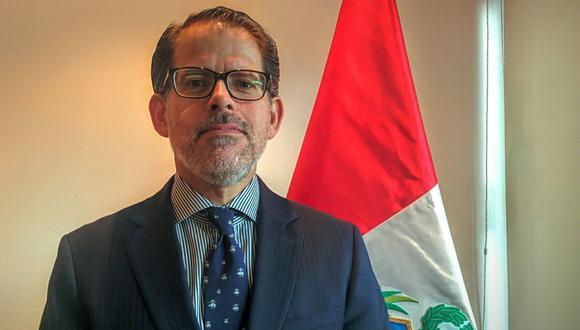 El diplomático Ignacio Higueras fue nombrado este miércoles 10 de febrero como viceministro de Relaciones Exteriores. (Foto: Andina)
