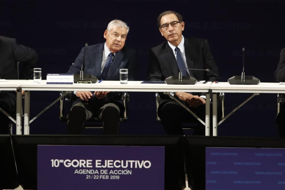 El presidente Martín Vizcarra inauguró el Décimo Gore Ejecutivo. (Foto: César Campos/GEC)