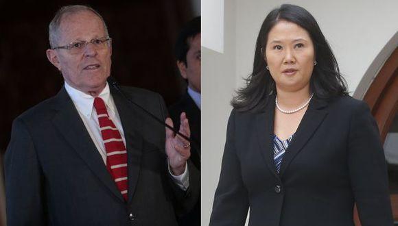 Pedro Pablo Kuczysnki arremetió contra Keiko Fujimori. (USI)