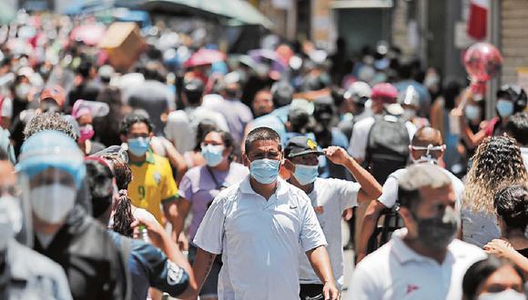 Lima y el Callao pasaron al nivel de riesgo extremo ante el incremento de las cifras de contagios y fallecidos. (GEC)