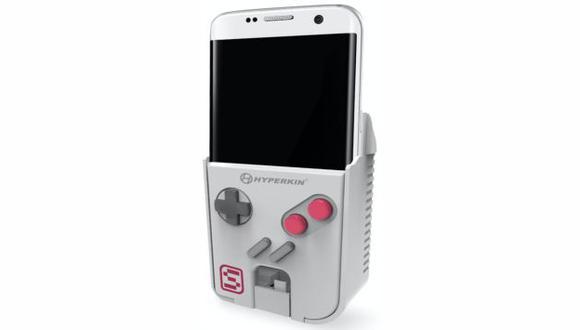 Este es SmartBoy, el gadget que convierte tu smartphone en un GameBoy (Hyperkin)