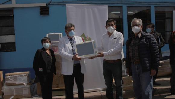 Cusco: Donan equipos biomédicos valorizados en más de 240 mil soles para enfrentar al COVID-19