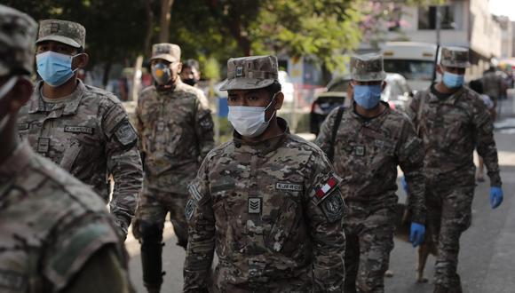 Cinco de los militares fallecidos por coronavirus pertenecen a la Marina de Guerra del Perú y uno del Ejército del Perú.(Foto: Leandro Britto)