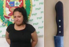Capturan a venezolana acusada de intentar asesinar a una compatriota en SJL