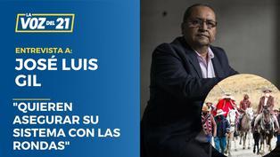 """José Luis Gil: """"Quieren asegurar su sistema con las rondas"""""""