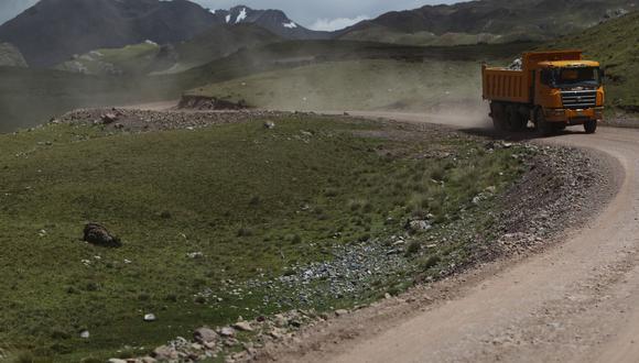 El proyecto se trata de trabajos en la carretera Lima-Canta-Huayllay-Desvío Cochamarca- Emp. PE 3N. (Foto: GEC)