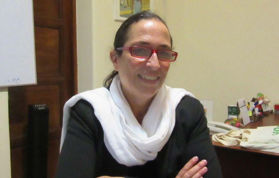 María Gloria Barreiro, directora de la ONG Desarrollo y Autogestión, que lucha contra el trabajo infantil
