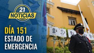 Día 151 de estado de emergencia nacional