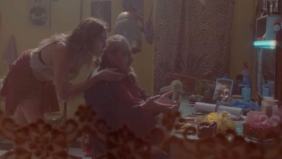 Mario y Gina en una de las escenas del quinto episodio de El marginal 3. (Foto: Underground)