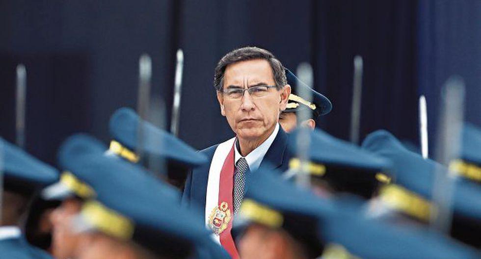 Vizcarra podría recibir un jalón de orejas, como sucedió con la ministra Montenegro. (GEC)