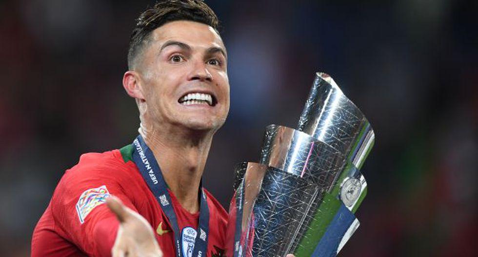 Cristiano Ronaldo anotó tres goles en la UEFA Nations League. (Foto: AFP)