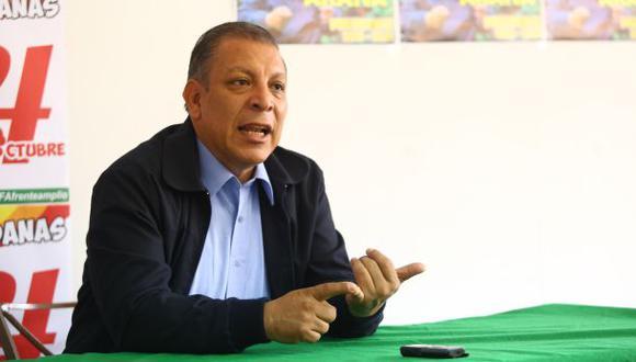 Marco Arana señaló que el Frente Amplio definirá si va solo o en alianza política en las elecciones generales del 2021. (Foto: GEC)